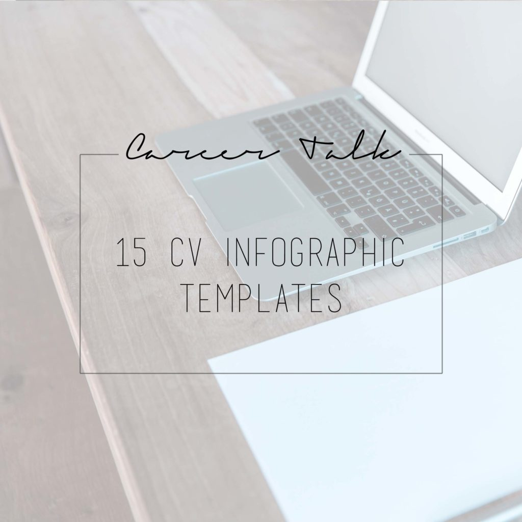 15 CV Infographic templates