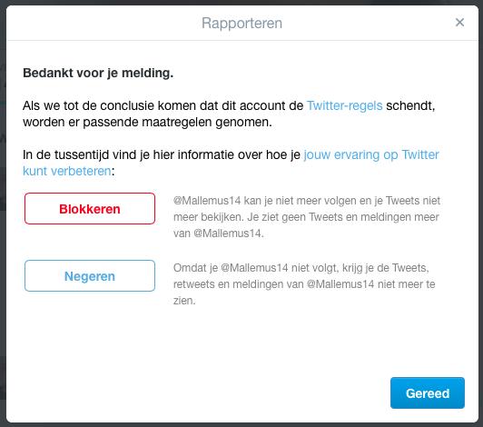 Twitter Spambots blokkeren | klik op blokkeren | BentheBemelman.com