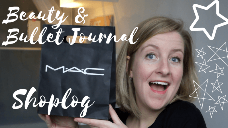 Beauty & Bullet Journal Shoplog